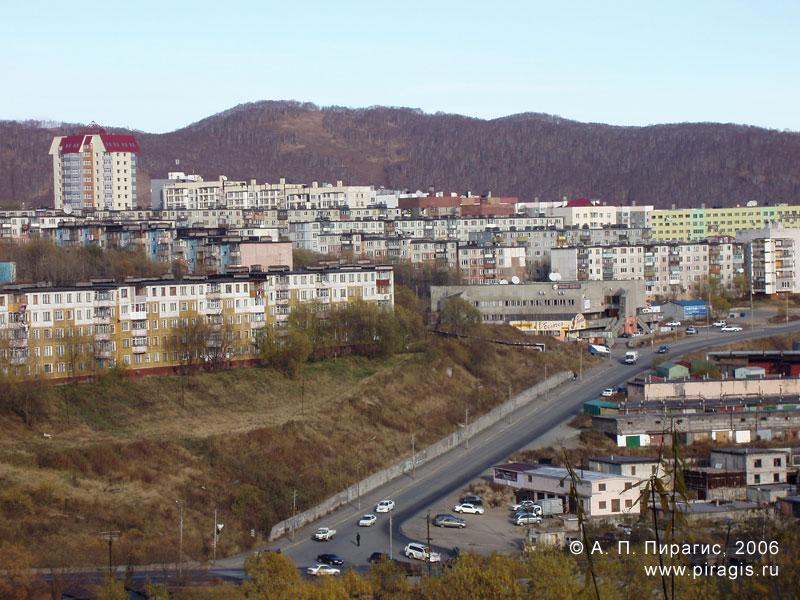 Микрорайон Энергетик в Петропавловске-Камчатском