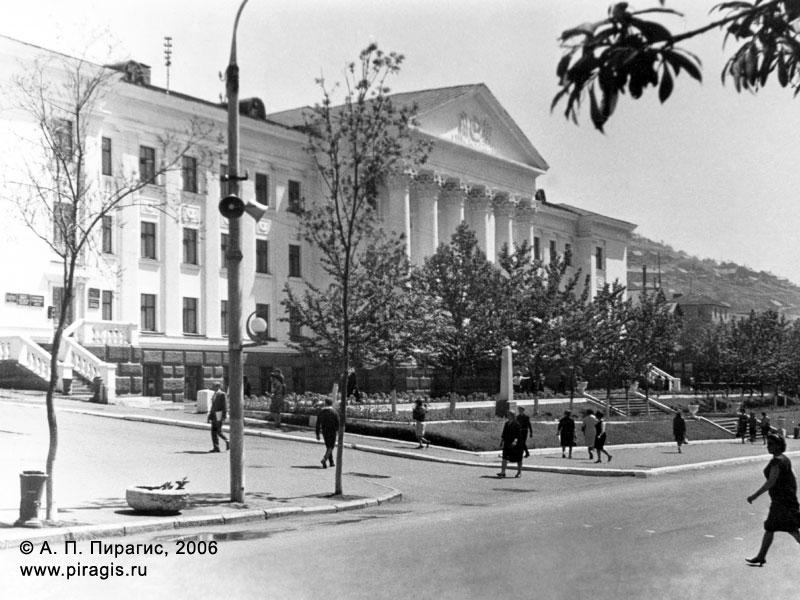 Здание Камчатского обкома КПСС в городе Петропавловске-Камчатском