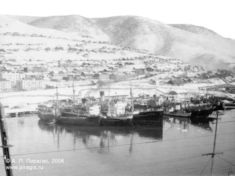 Петропавловск-Камчатский морской рыбный порт