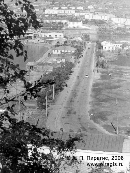 Улица Озерновская коса в Петропавловске-Камчатском