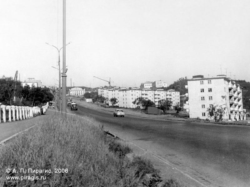 Улица Владивостокская в Петропавловске-Камчатском