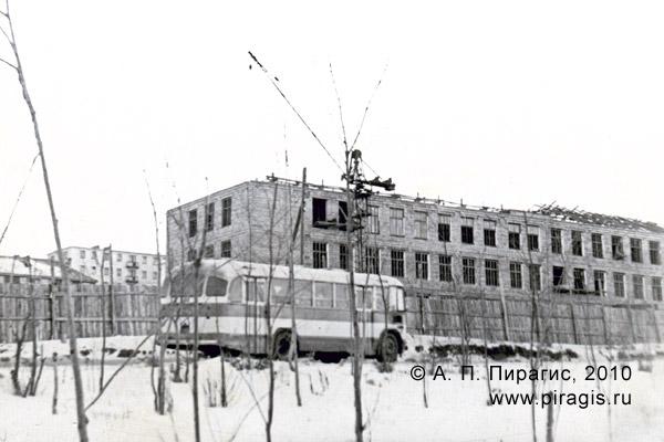 Строительство Камчатской швейной фабрики в Петропавловске-Камчатском