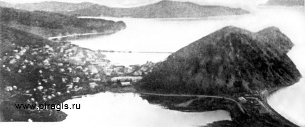 Петропавловск с Мишенной сопки, фотография начала XX века