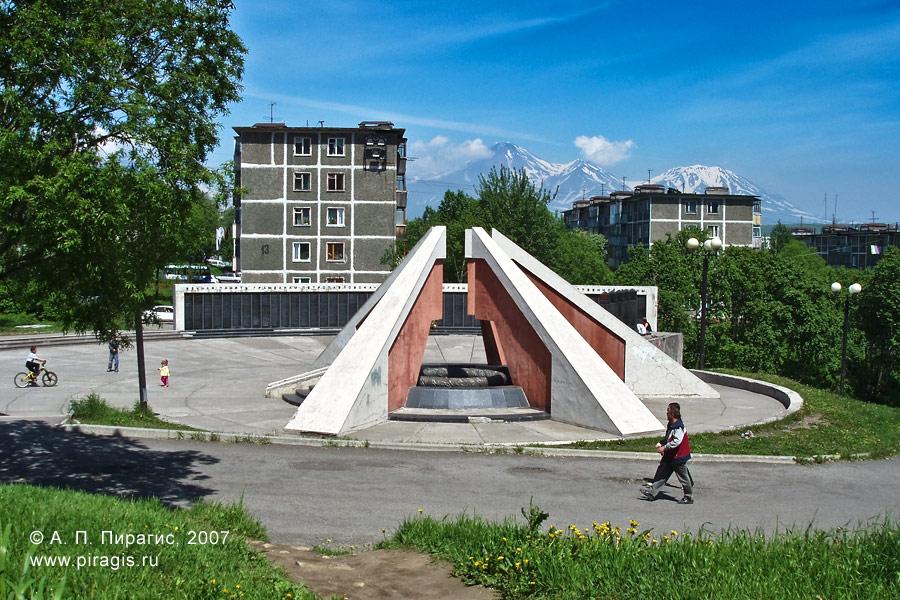Мемориал памяти камчатцев, погибших во Второй мировой войне
