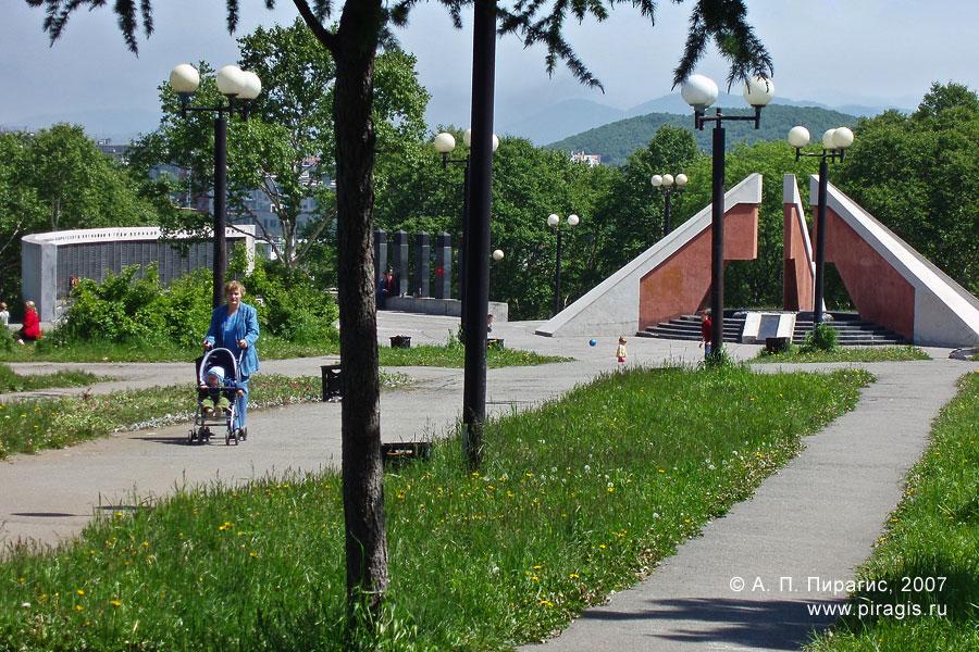 Парк победы в Петропавловске-Камчатском