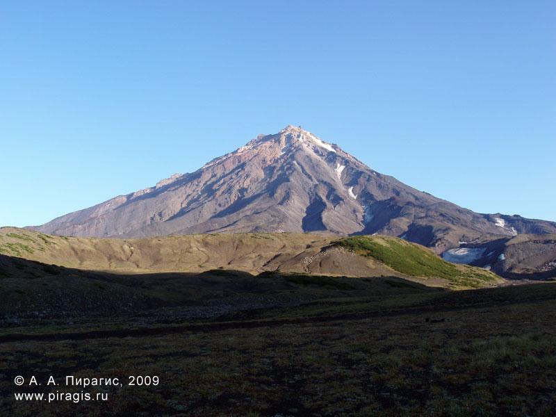 Корякский вулкан на рассвете