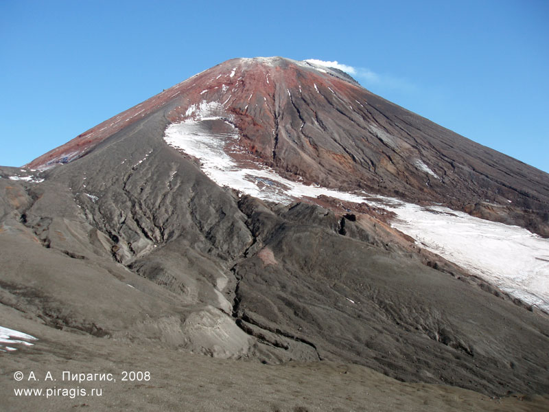 Конус Авачинского вулкана