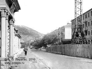 Строительство на улице Советской в Петропавловске-Камчатском