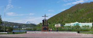 Панорама города Петропавловска-Камчатского