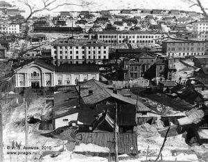 Кинотеатр Камчатка, Дом пионеров в центре Петропавловска-Камчатского