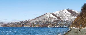 Панорама Петропавловска-Камчатского, Авачинская губа