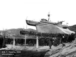 Открытие памятника Торпедный катер в городе Петропавловске-Камчатском