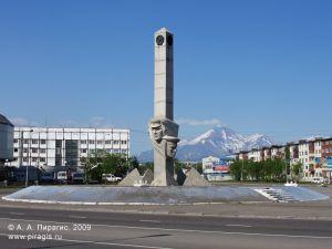 Монумент Славы пограничникам Камчатки в Петропавловске-Камчатском