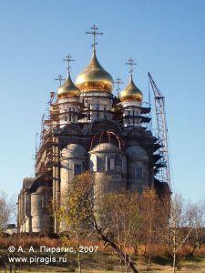 Кафедральный собор Святой Живоначальной Троицы в городе Петропавловске-Камчатском