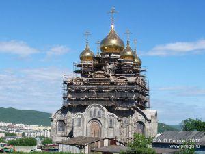 Кафедральный собор Святой Живоначальной Троицы в Петропавловске-Камчатском